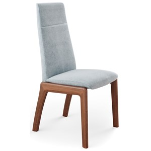 Reclining High-Back Dining Chair with D100 Base