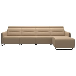 Power 3-Seat Sectional with Longseat