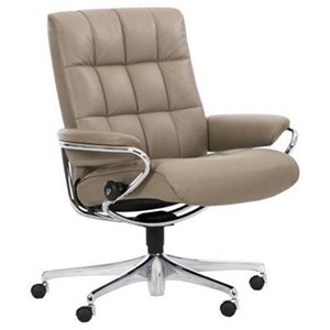 Office Chair with Low Back