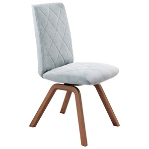 Reclining Low-Back Dining Chair with D200 Base