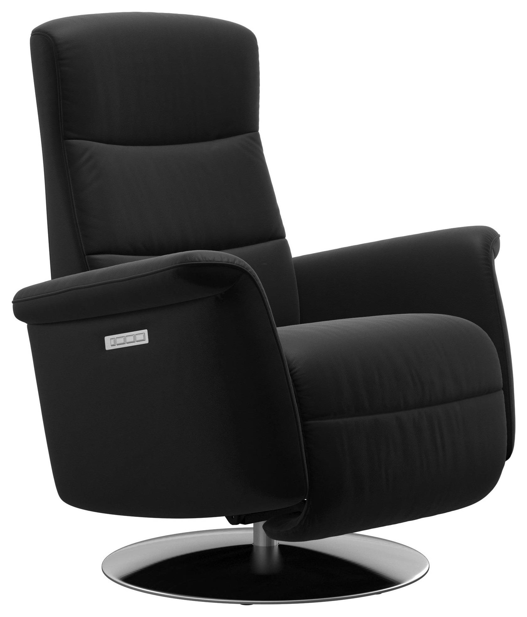 Mike Small Power Recliner by Stressless at Bennett's Furniture and Mattresses