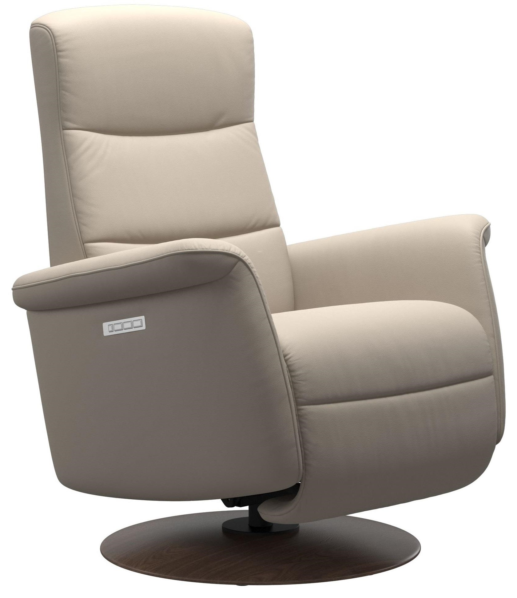 Mike Large Power Recliner by Stressless at Bennett's Furniture and Mattresses