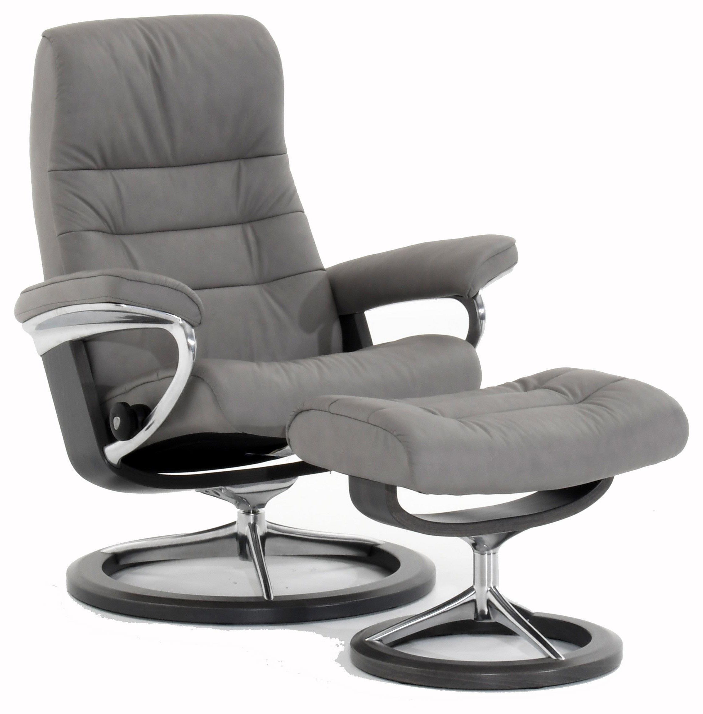Opal Medium Opal Signature Chair by Stressless at Baer's Furniture