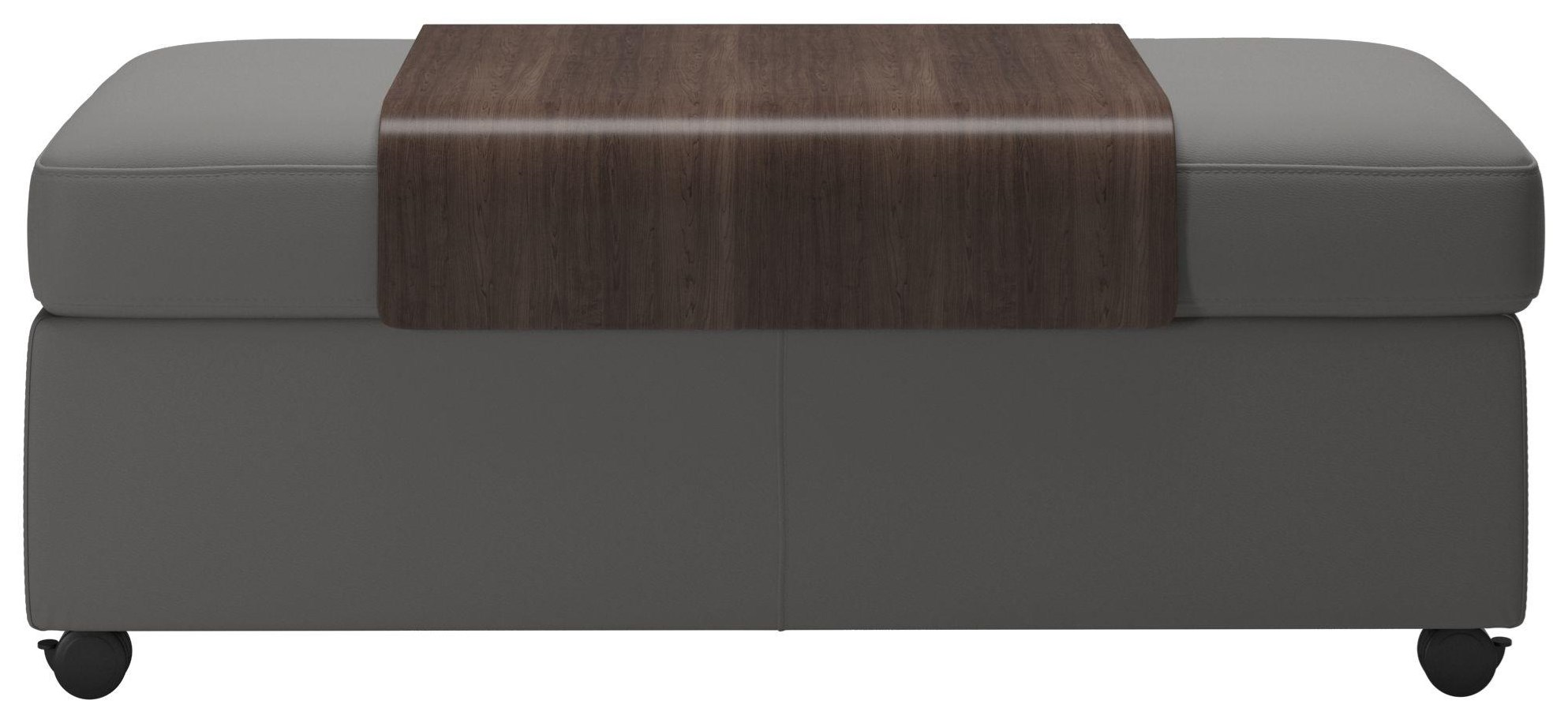 Ottomans Double Ottoman & Table by Stressless at Upper Room Home Furnishings