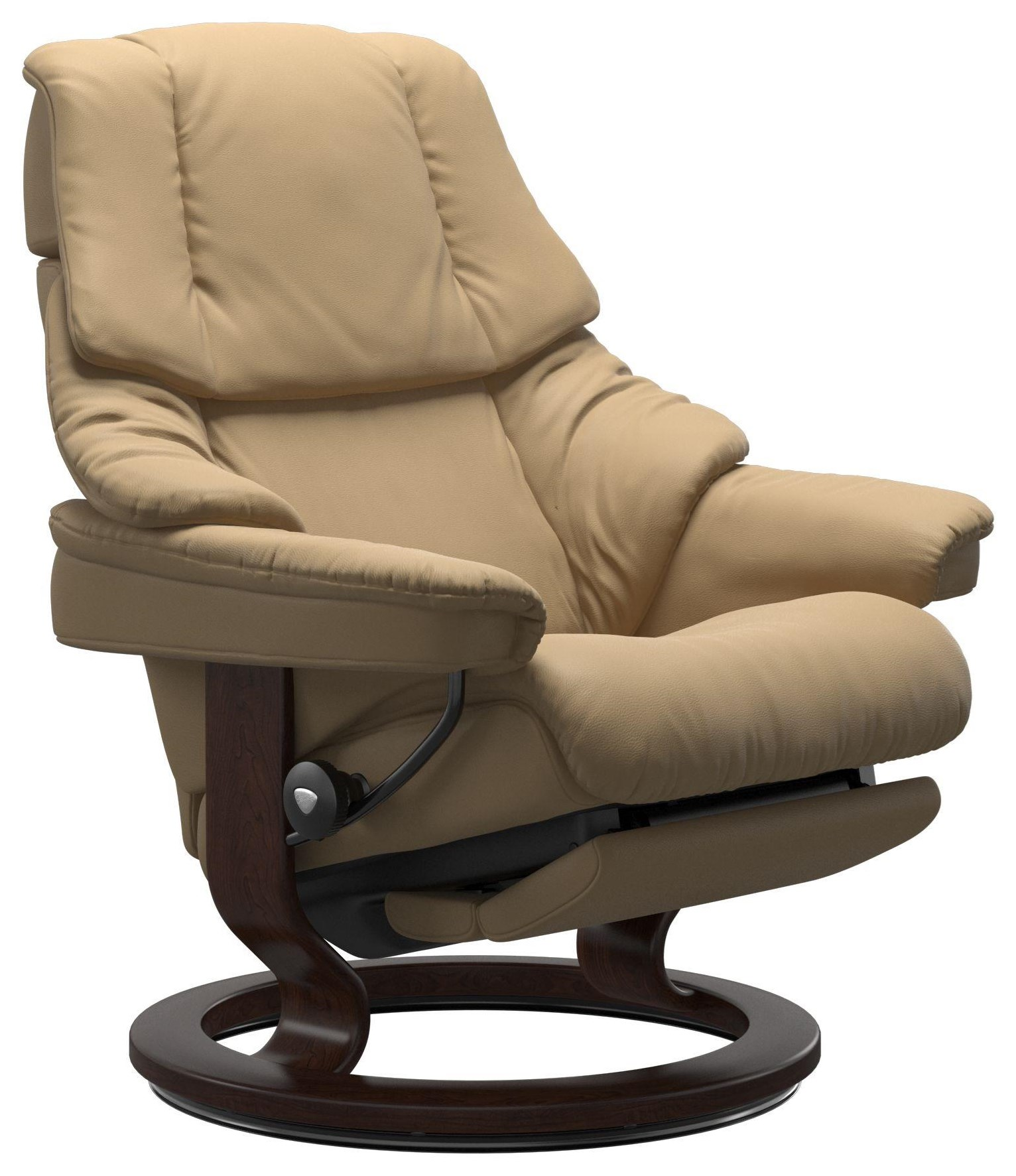 Reno Reno Classic Power Recliner Leg & Back by Stressless at Upper Room Home Furnishings