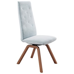 Reclining High-Back Dining Chair with D200 Base