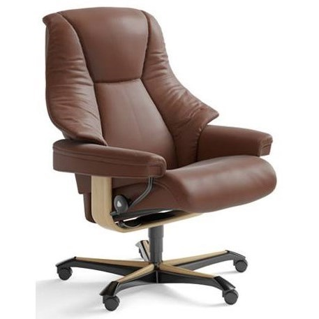 Live Office Chair by Stressless at Reid's Furniture