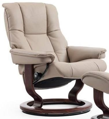 Mayfair Large Reclining Chair with Classic Base by Stressless at Jordan's Home Furnishings
