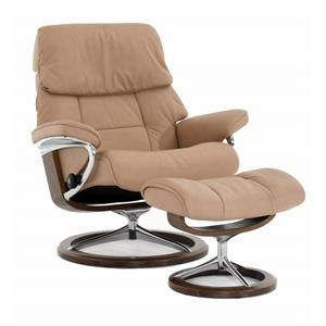 Large Signature Reclining Chair and Ottoman