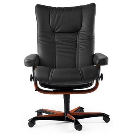 Wing Office Chair by Stressless at Bennett's Furniture and Mattresses
