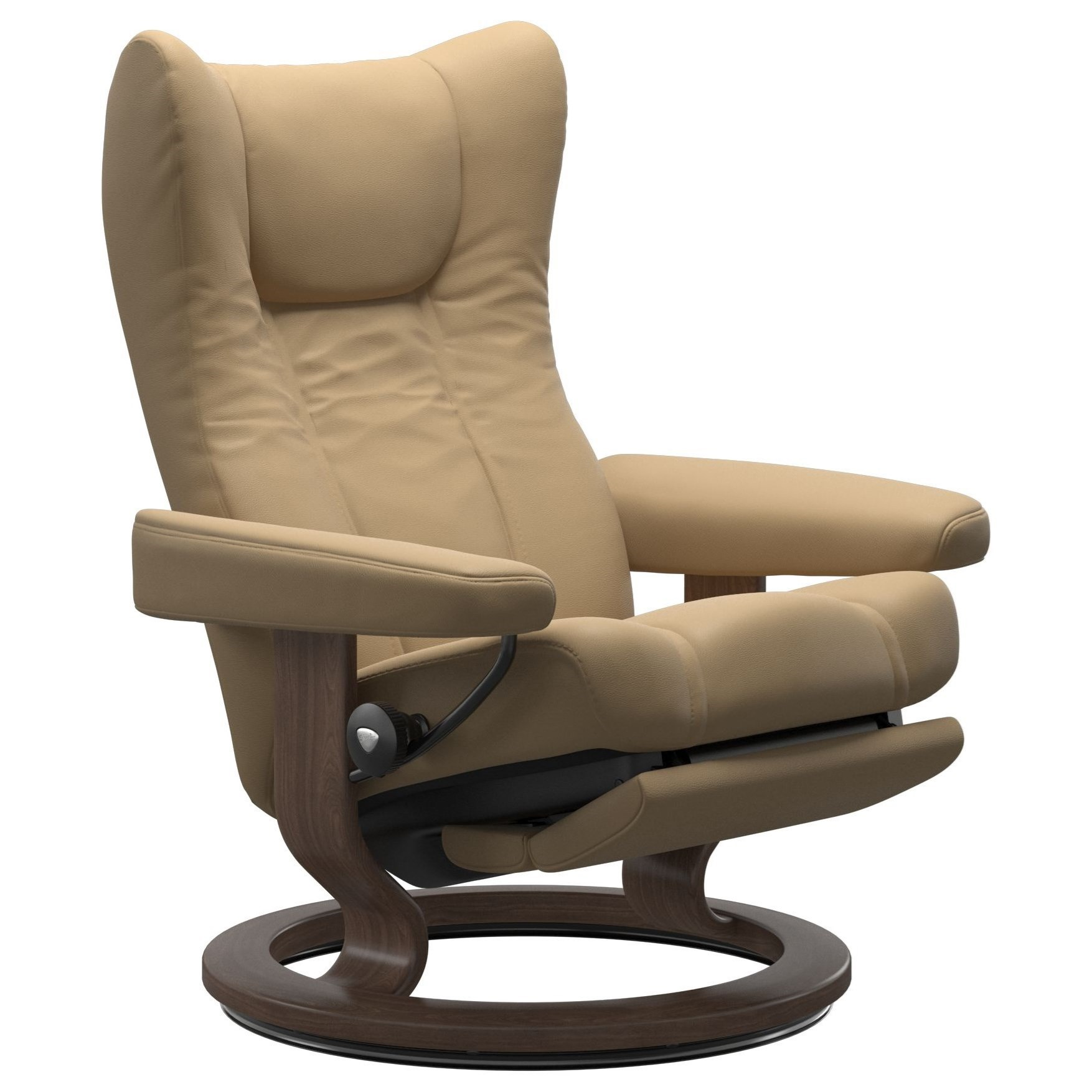 Wing Large Classic Power Recliner by Stressless at Bennett's Furniture and Mattresses