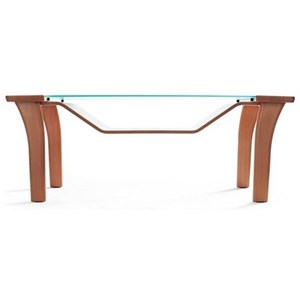 Windsor Table with Glass Top