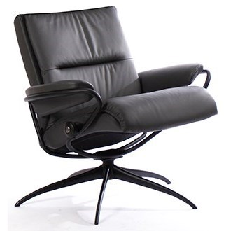 Tokyo Low Back Chair with Star Base by Stressless at Fashion Furniture