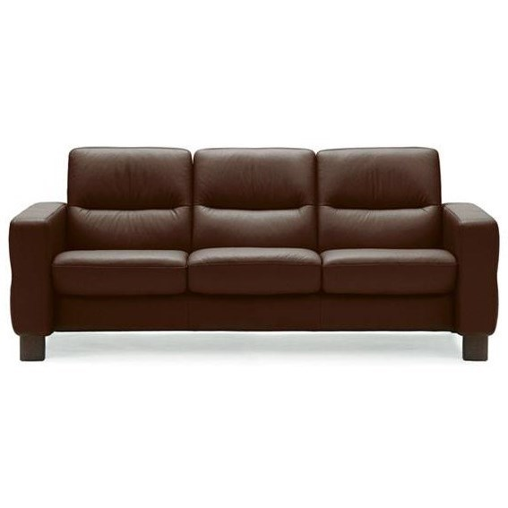 Wave Low-Back Reclining Sofa by Stressless at Virginia Furniture Market