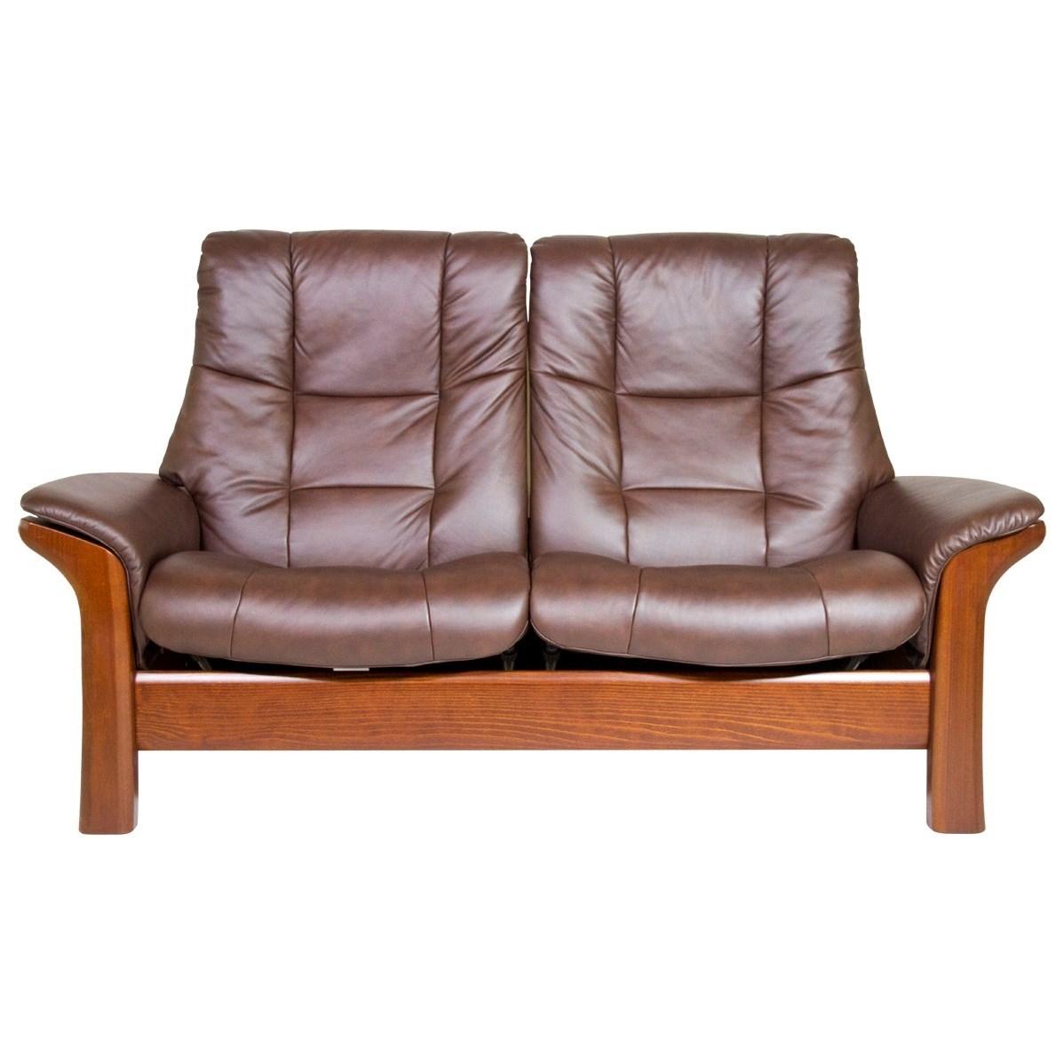 Buckingham Reclining Loveseat by Stressless at HomeWorld Furniture