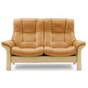 High-Back 2-Seater Reclining Loveseat