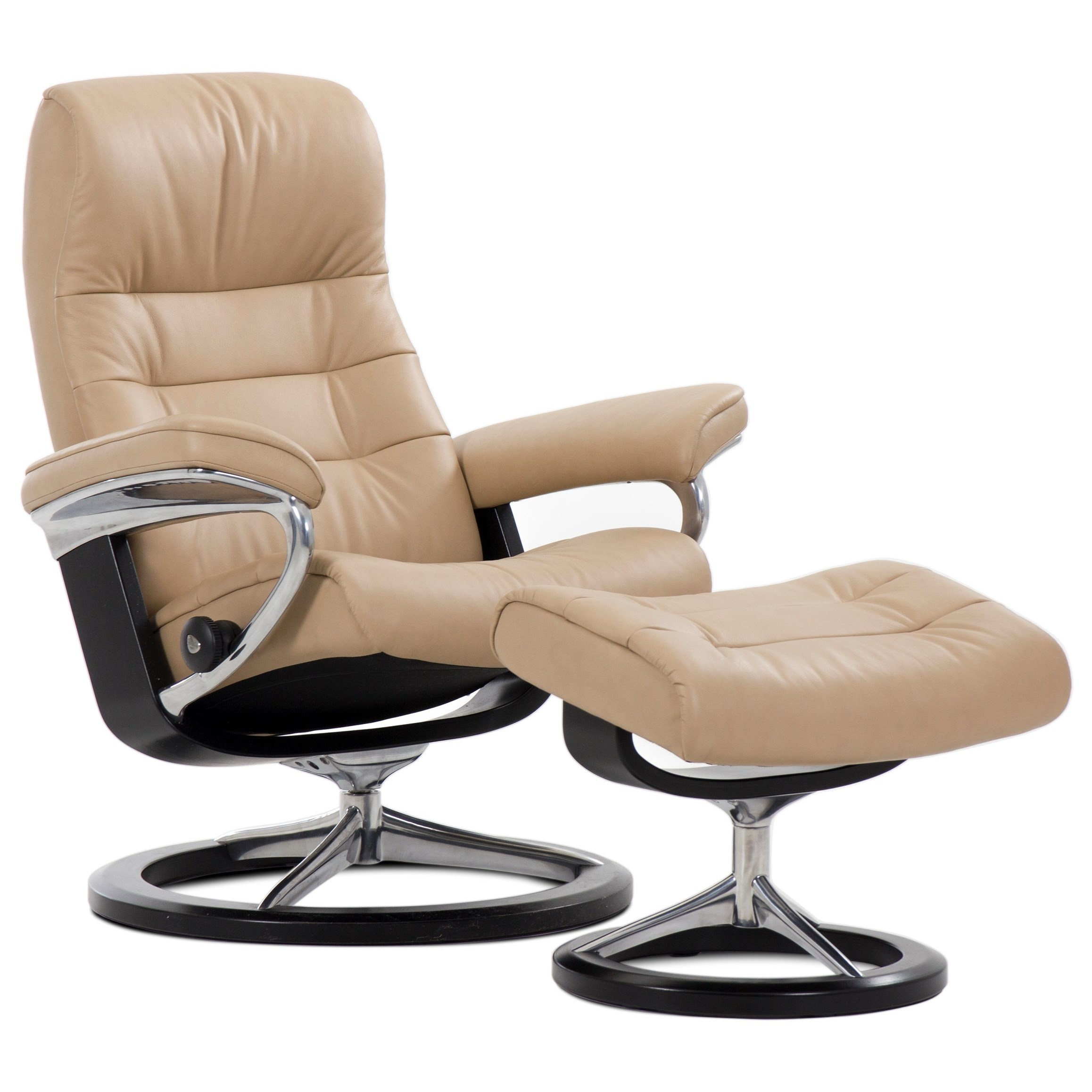 Opal Small Opal Signature Chair by Stressless at Baer's Furniture