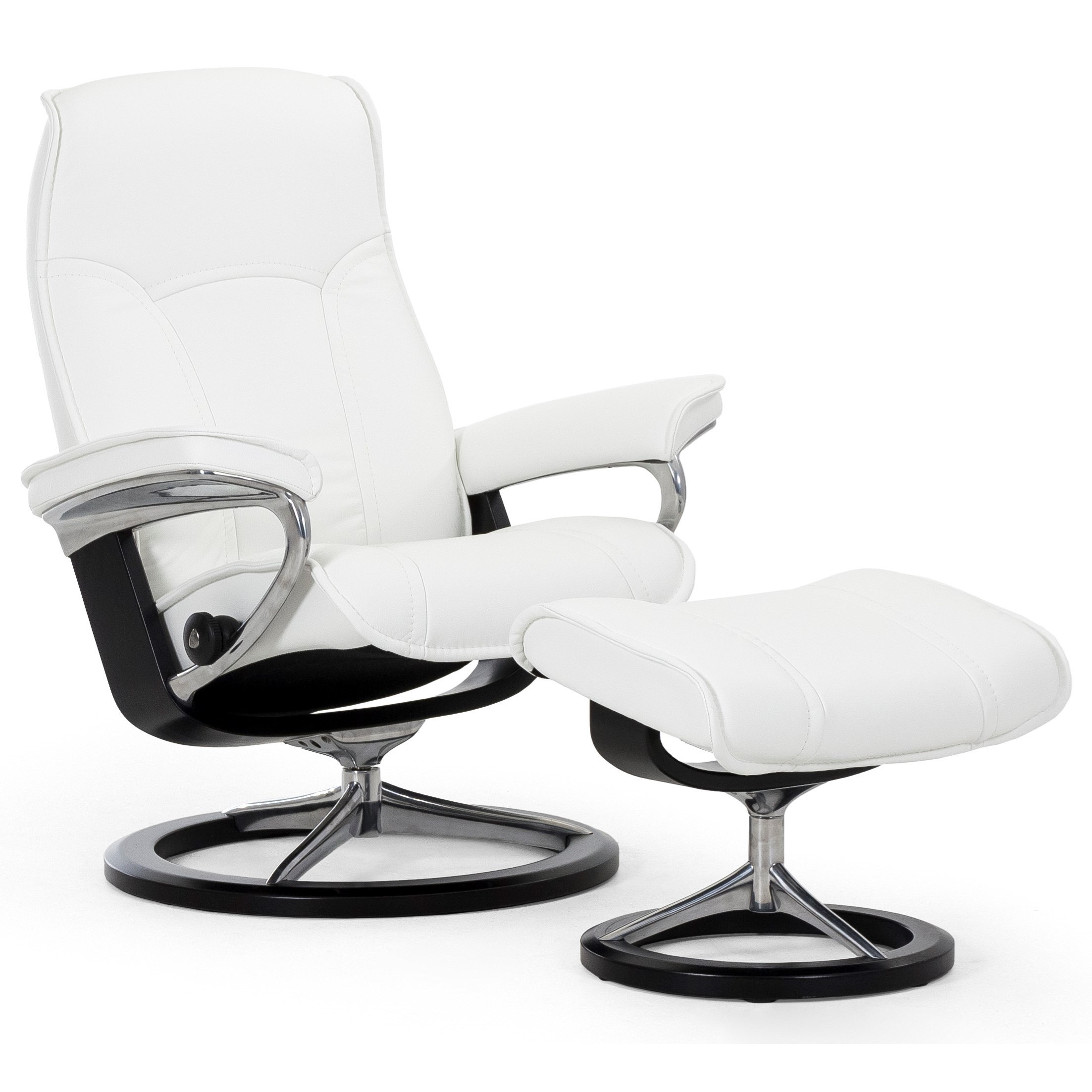 Stressless Senator Large Signature Chair by Stressless at Baer's Furniture