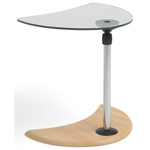 Alpha Table with Glass Top