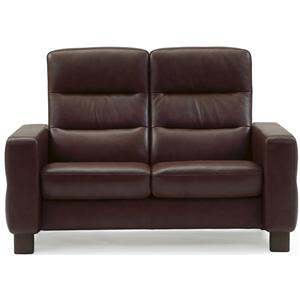 High-Back Reclining Loveseat