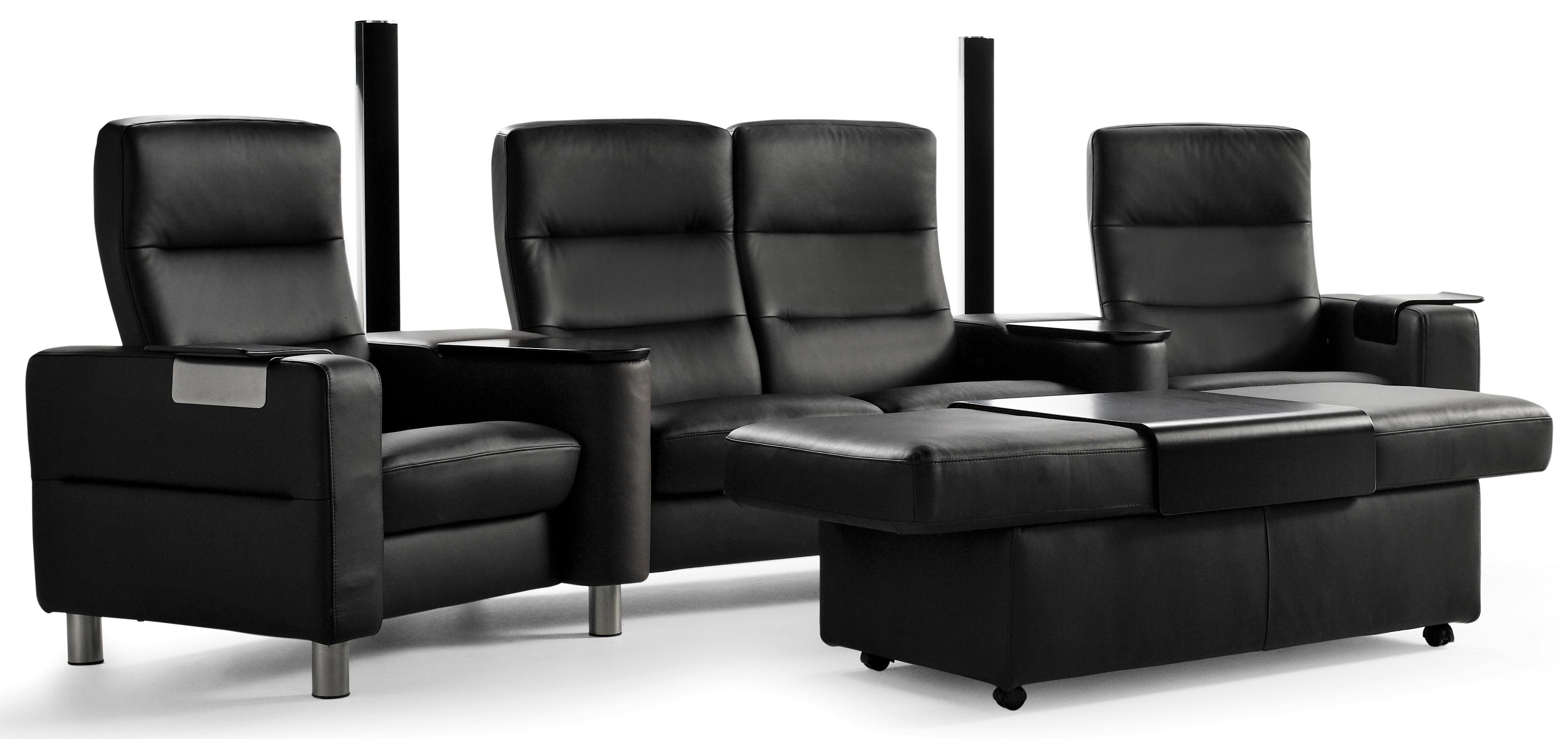 Wave Theater Seating by Stressless at Virginia Furniture Market