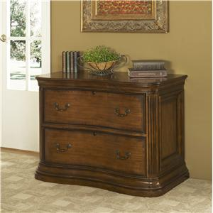 Traditional Serpentine 2-Drawer Lateral File