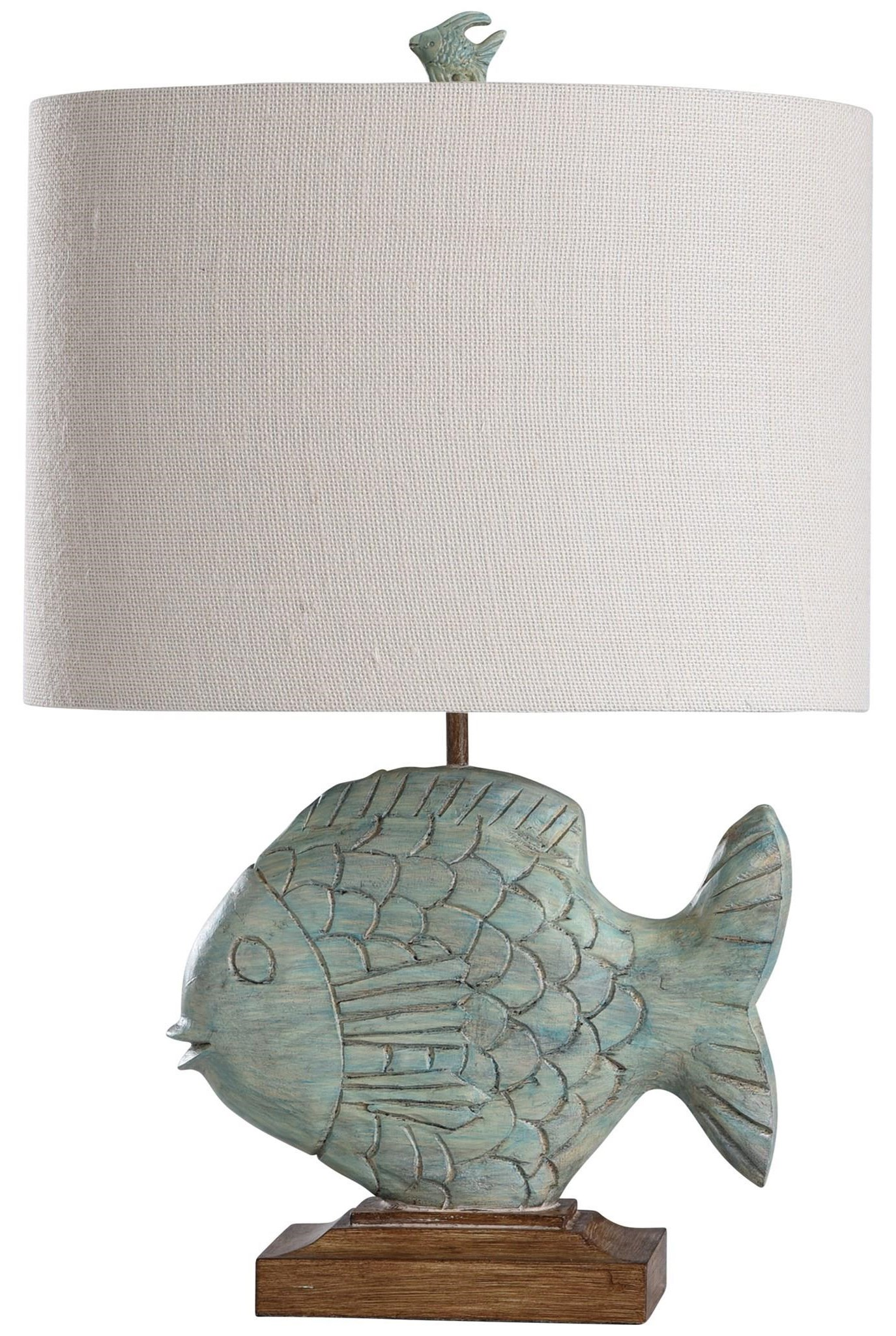 2020 LAMPS Nemo Blue Lamp by StyleCraft at Furniture Fair - North Carolina