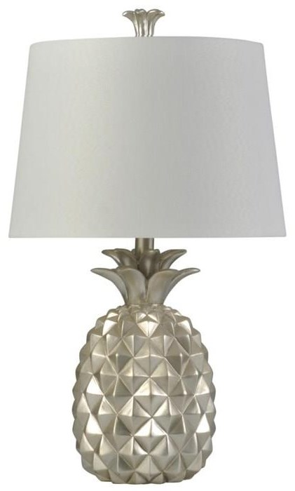 2020 LAMPS SILVER PINEAPPLE by StyleCraft at Furniture Fair - North Carolina