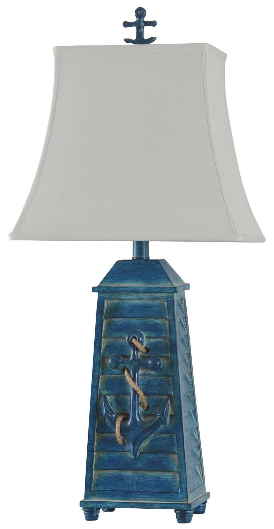 2020 LAMPS Shutter Anchor Lamp by StyleCraft at Furniture Fair - North Carolina