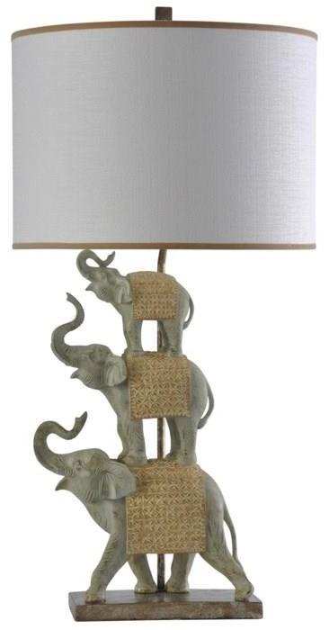 2020 LAMPS Indira Gold Elephant by StyleCraft at Furniture Fair - North Carolina