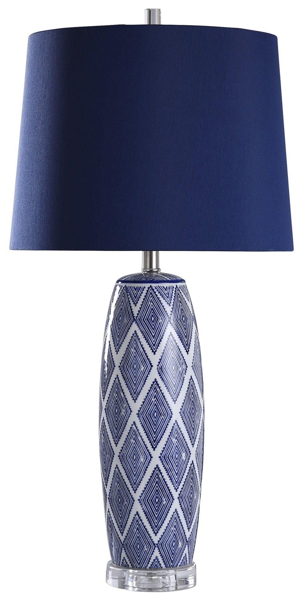 2020 LAMPS NAVY CERAMIC by StyleCraft at Furniture Fair - North Carolina