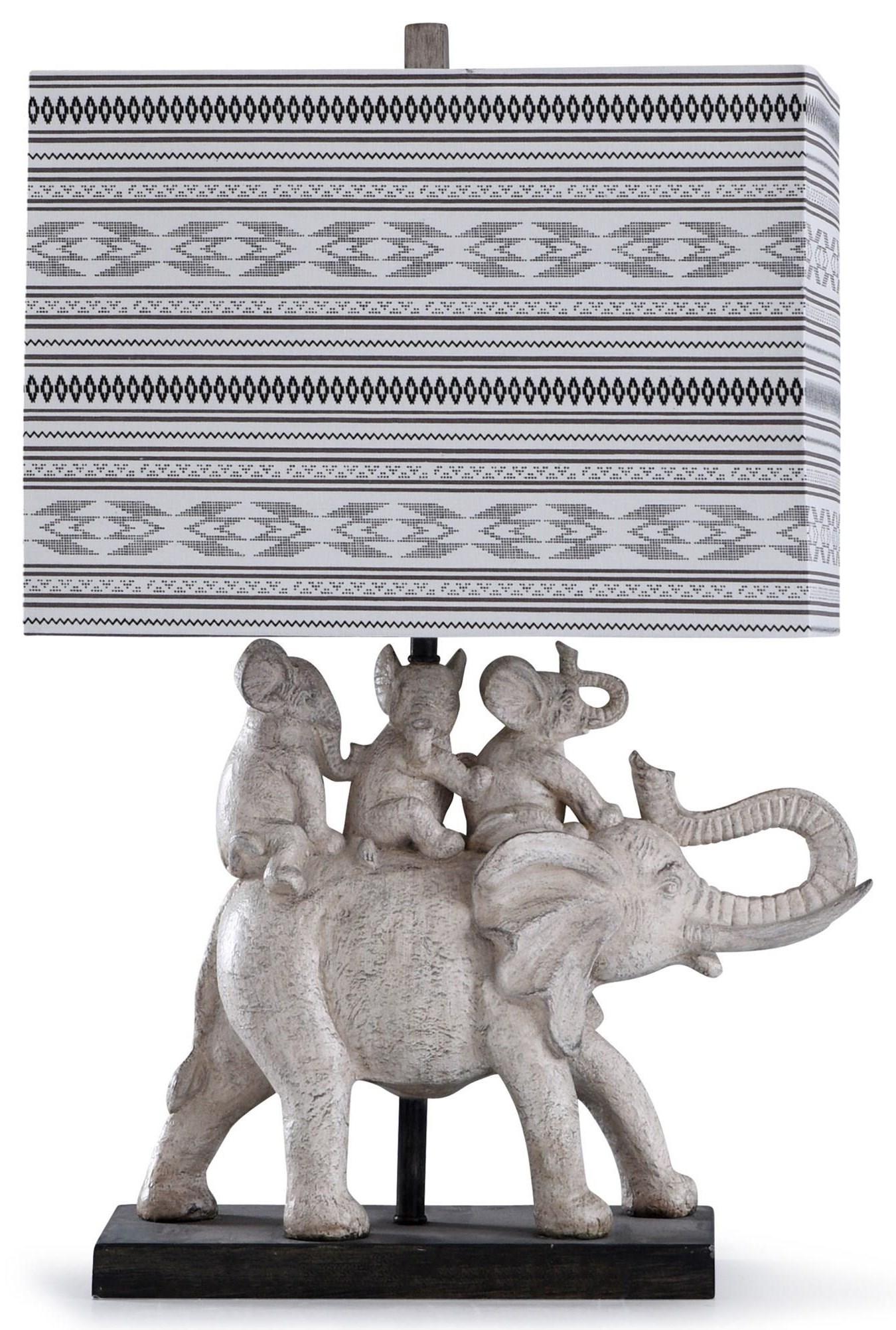 2020 LAMPS Elephant Lamp by StyleCraft at Furniture Fair - North Carolina