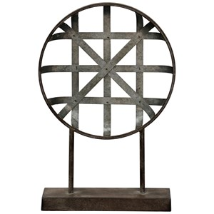 Galvanized Metal Table Top Decor