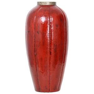 Red Labu Vase