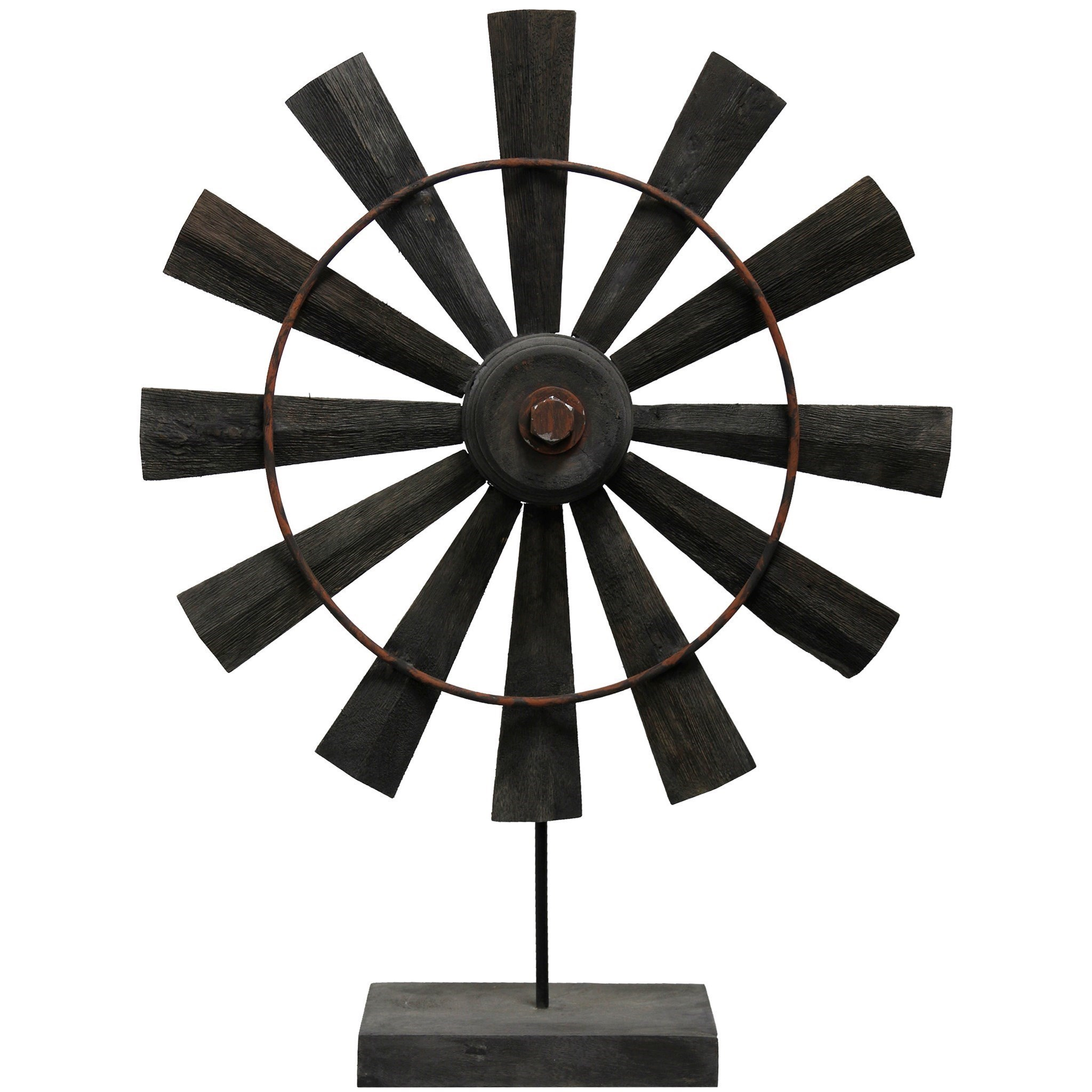 Accessories Coffee Windmill Wooden Sculpture by StyleCraft at Alison Craig Home Furnishings