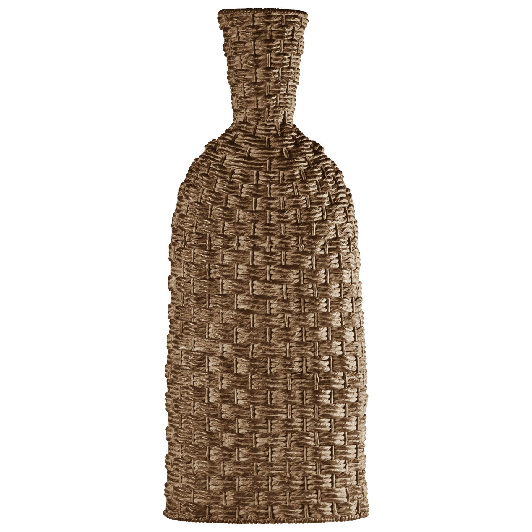 Accessories Woven Basket Vase by StyleCraft at Alison Craig Home Furnishings