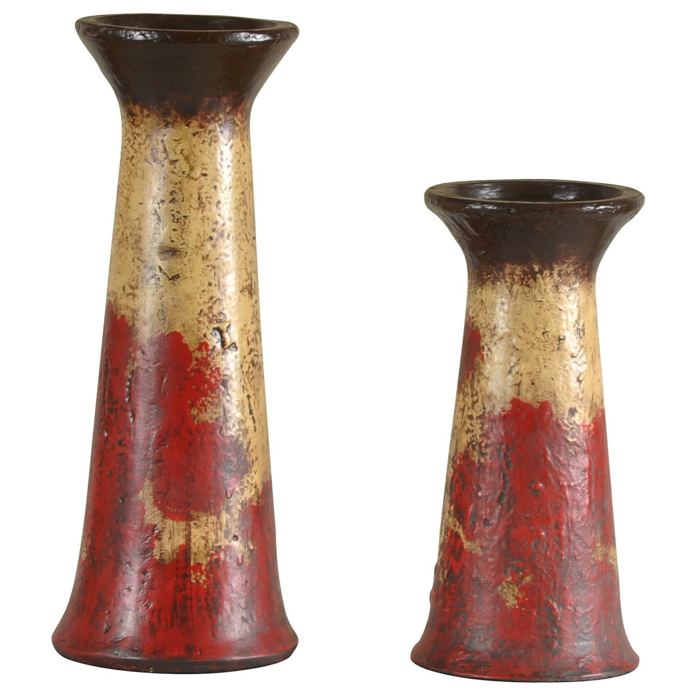 2 Piece Set of Candle Holders