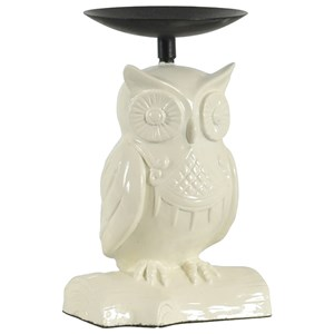Owl Resin Candle Stand