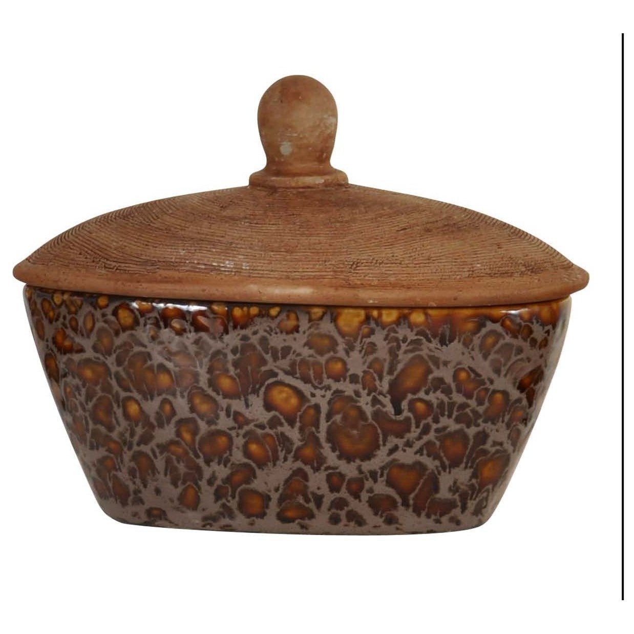 Accessories Ceramic Box by StyleCraft at Alison Craig Home Furnishings
