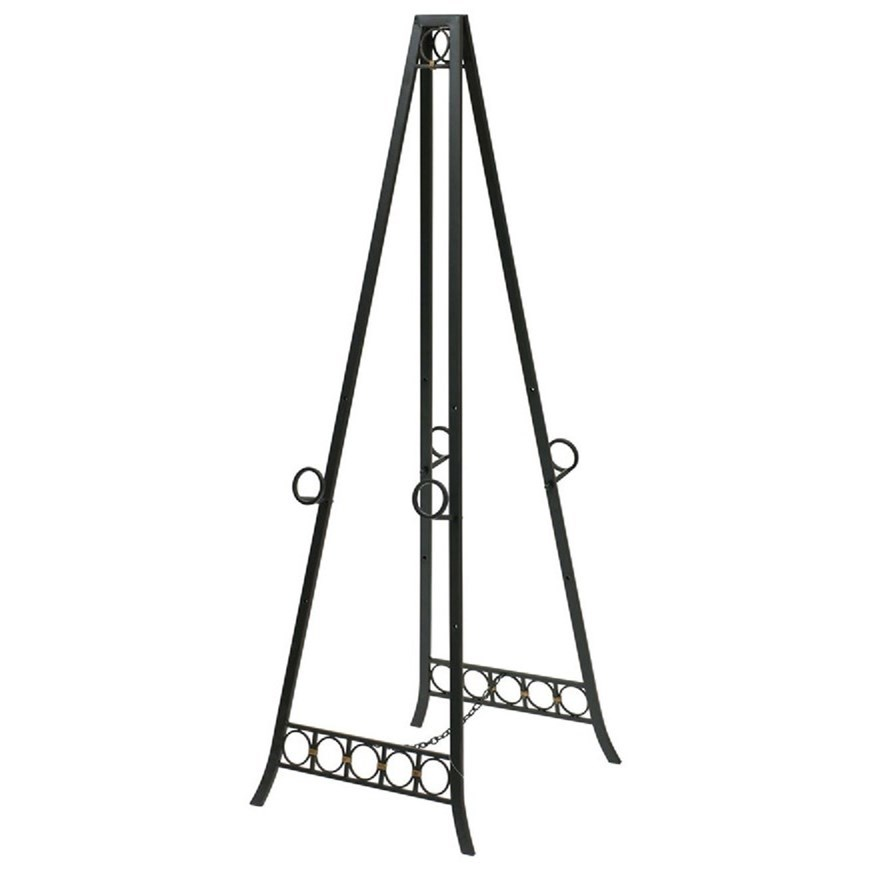 Accessories Adjustable Metal Easel by StyleCraft at Alison Craig Home Furnishings