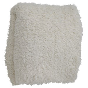 Oversized Faux Fur Throw Blanket