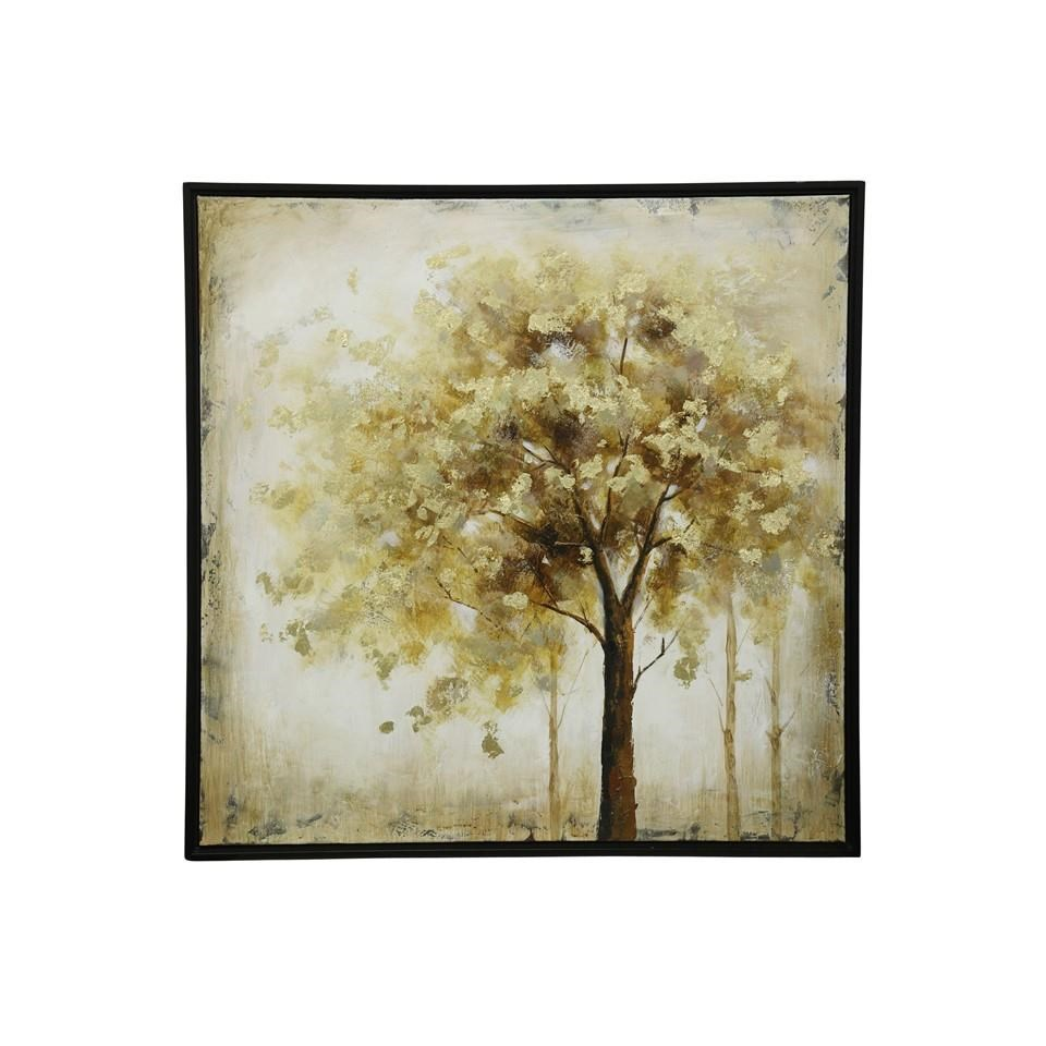 Painted Tree Canvas