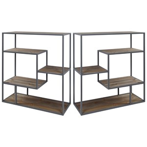Bryan Keith Brand - Set of 2 Book Cases