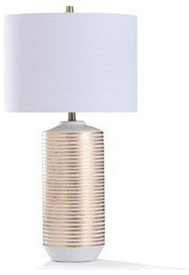 Lamp Contini Gold Spool by StyleCraft at Stoney Creek Furniture