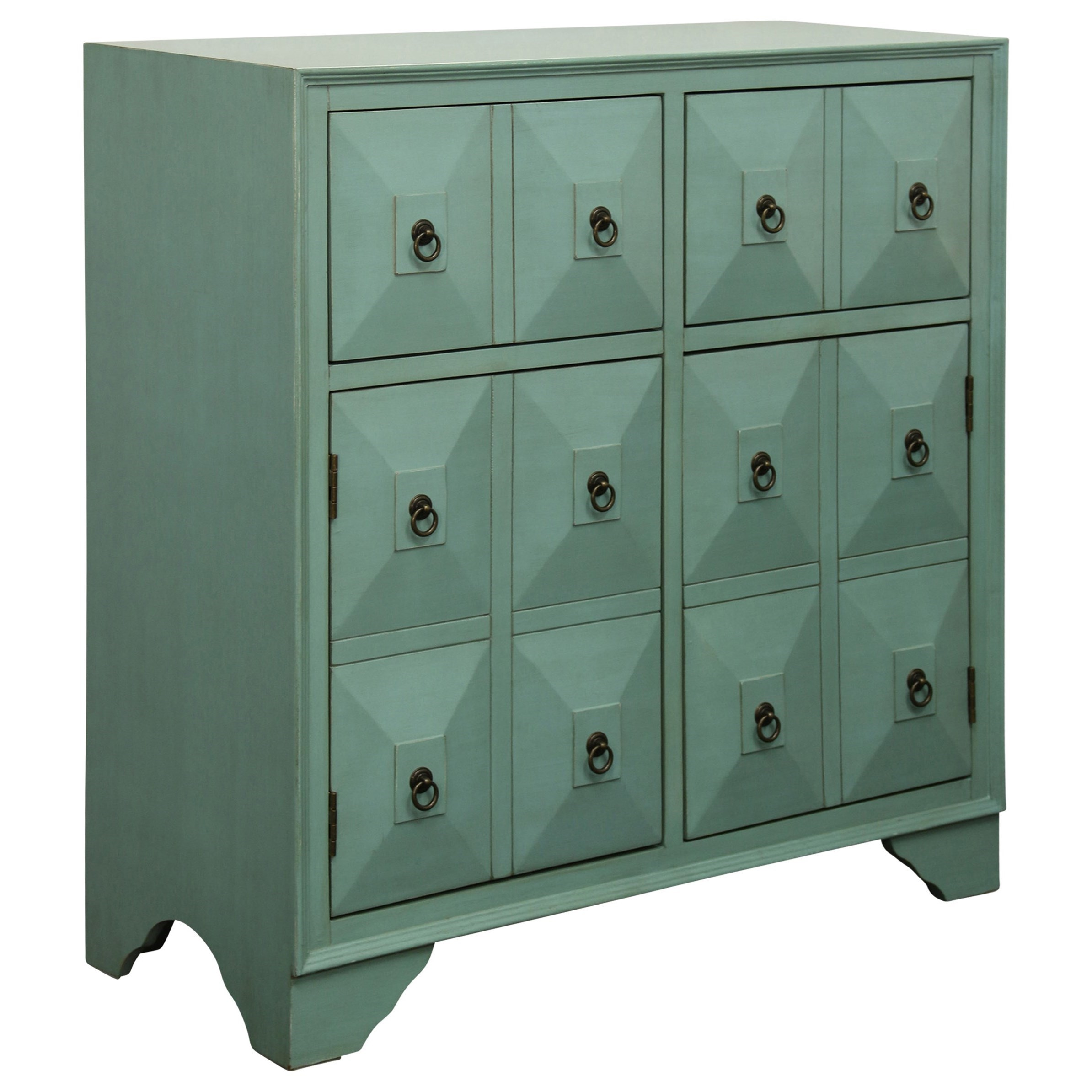 Occasional Cabinets 2 Drawer 2 Door Chest by StyleCraft at Wilcox Furniture