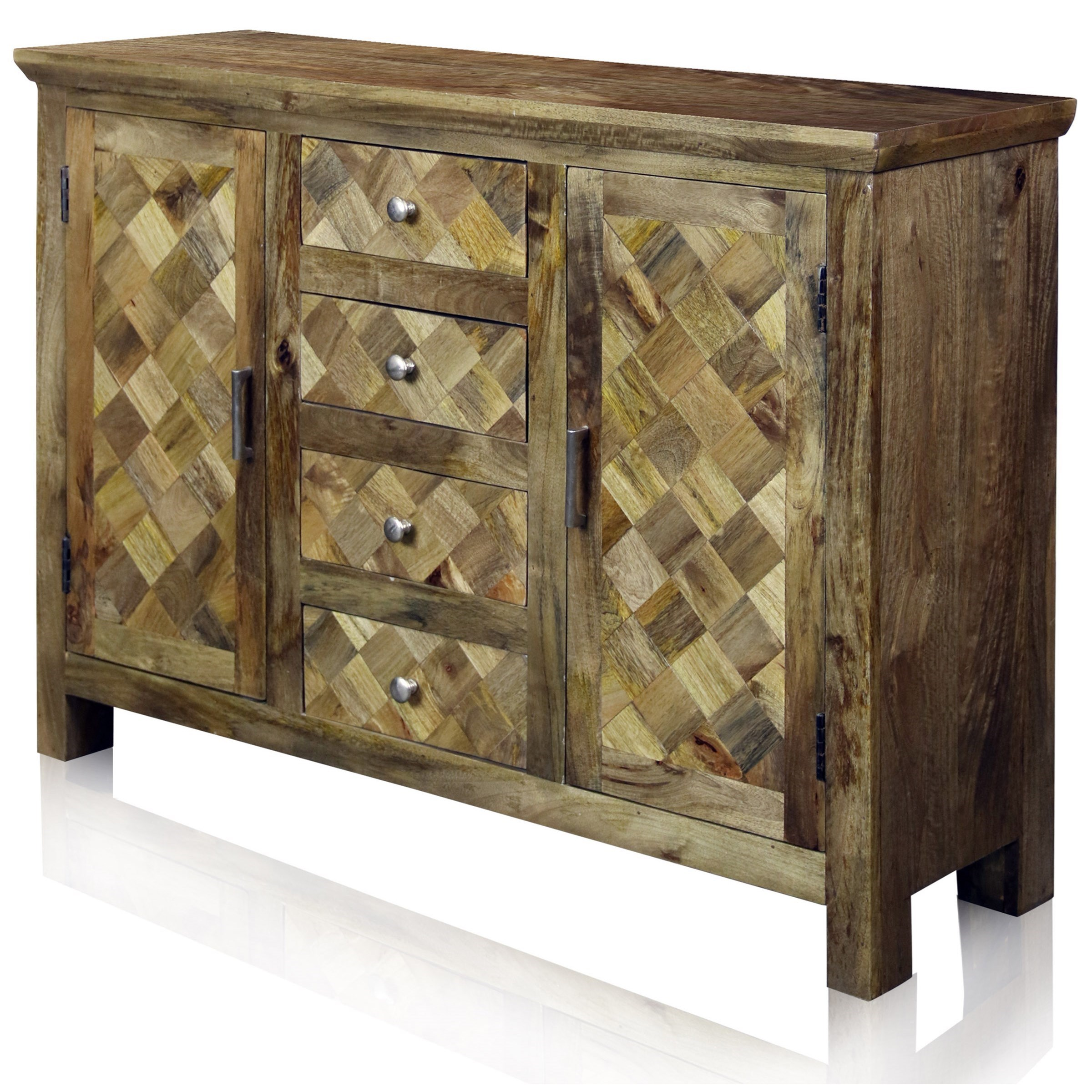 Occasional Cabinets 2 Door 4 Drawer Sideboard by StyleCraft at Alison Craig Home Furnishings