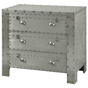 Industrial 3 Drawer Chest