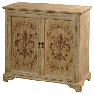 Solid Fir Wood 2 Door Cabinet