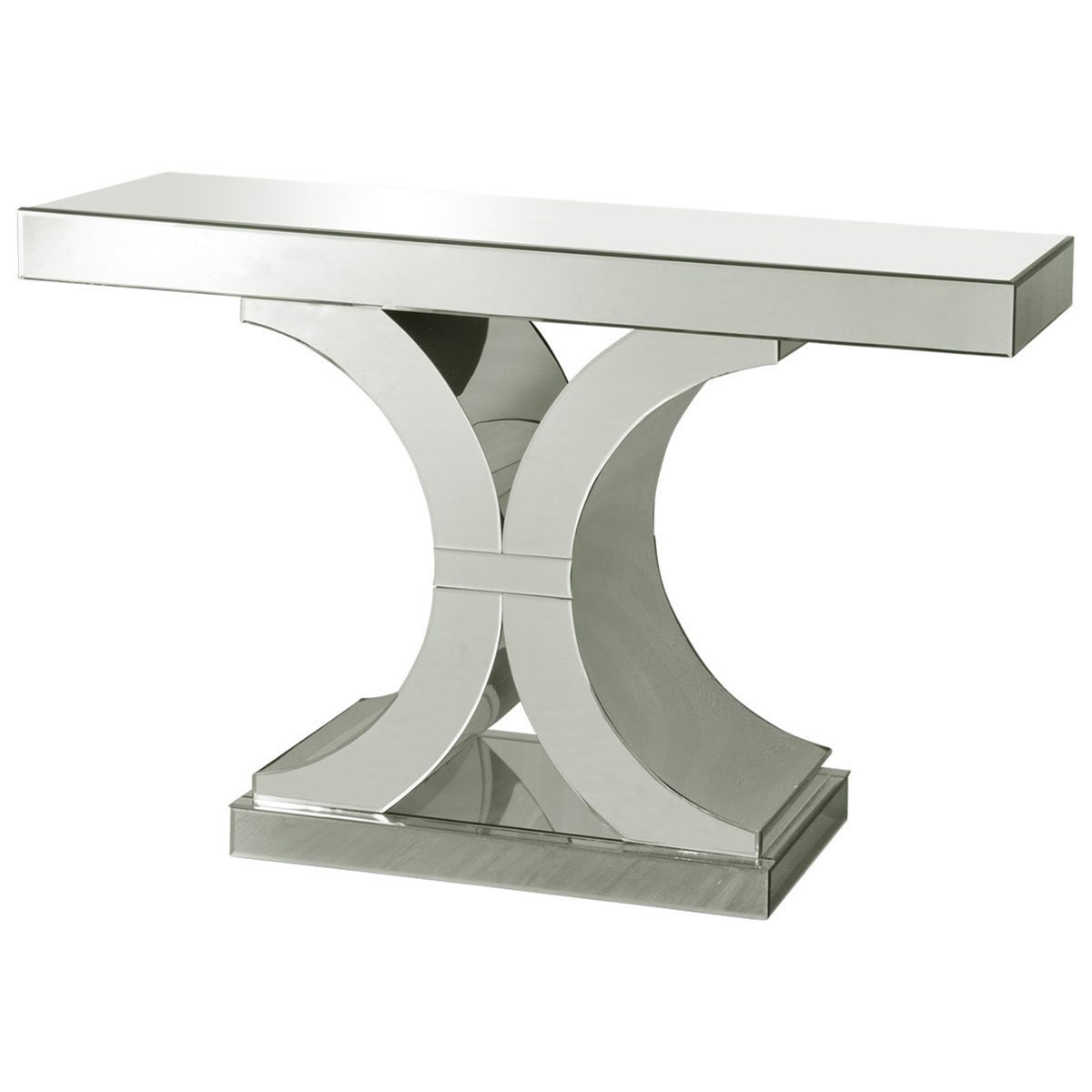 Occasional Tables Chanel Clear Glass Console Table by StyleCraft at Alison Craig Home Furnishings