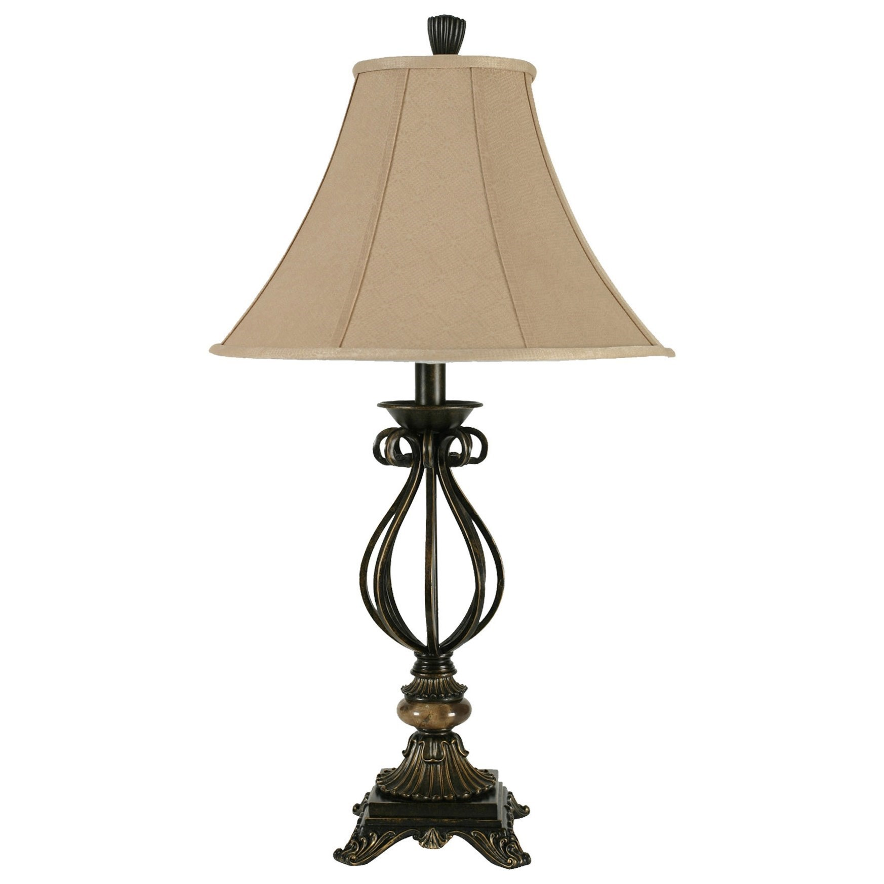 Lamps Iron Table Lamp by StyleCraft at Alison Craig Home Furnishings